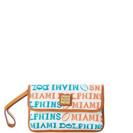 Dolphins Milly Wristlet