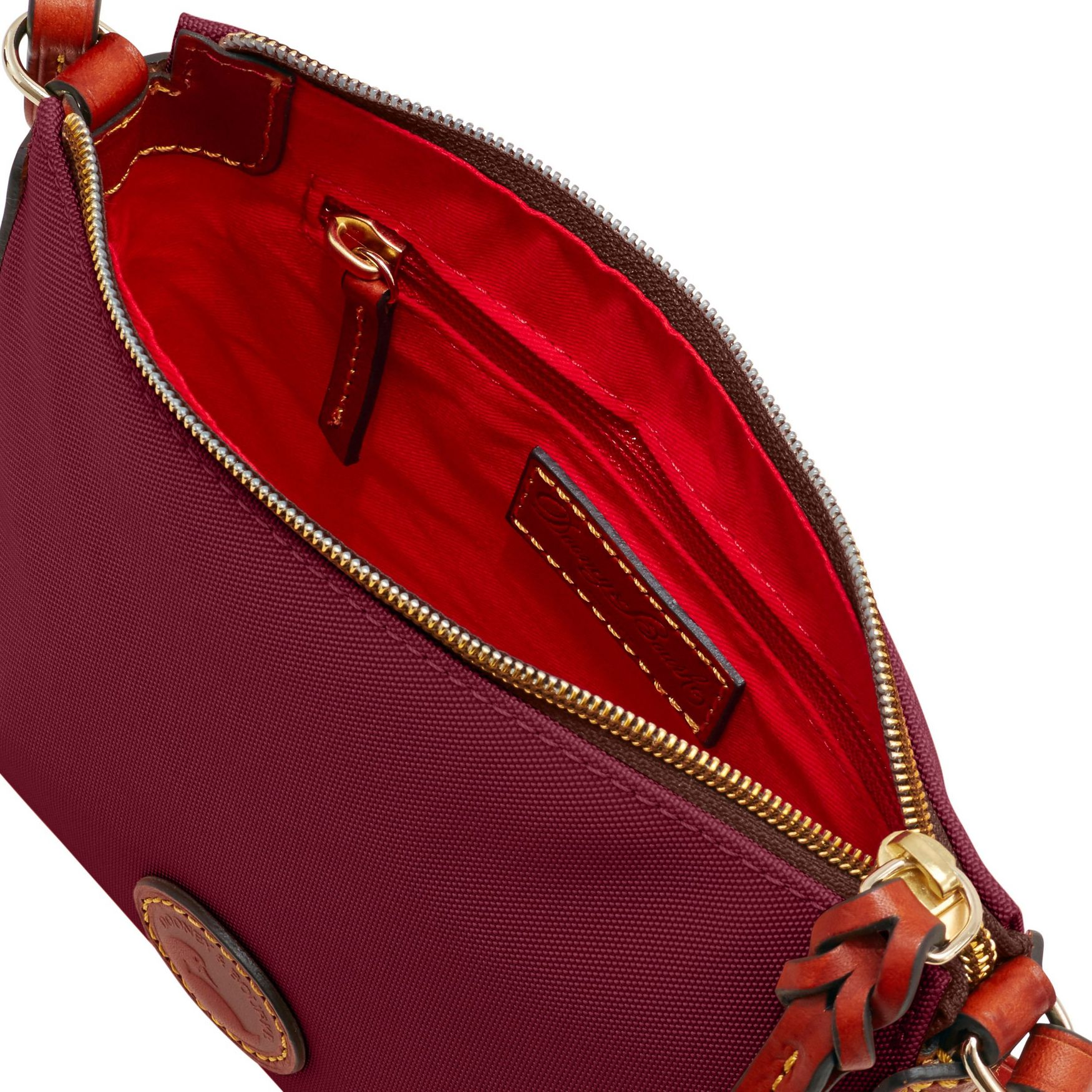 Dooney-amp-Bourke-Nylon-Crossbody-Pouchette-Shoulder-Bag thumbnail 18