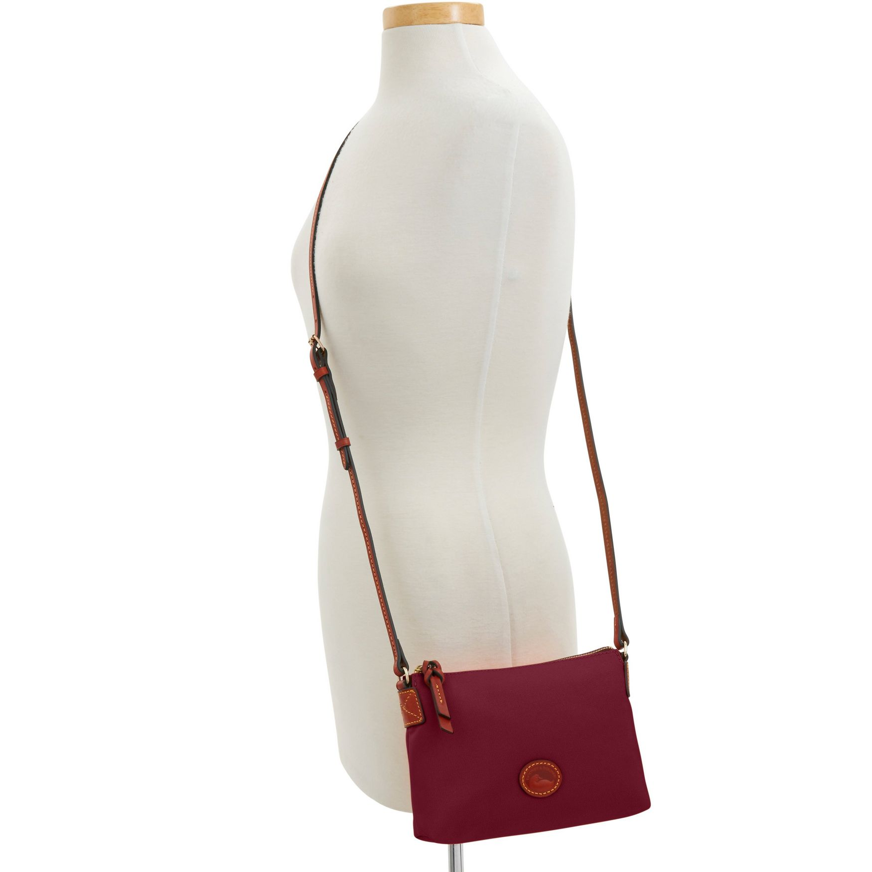Dooney-amp-Bourke-Nylon-Crossbody-Pouchette-Shoulder-Bag thumbnail 19