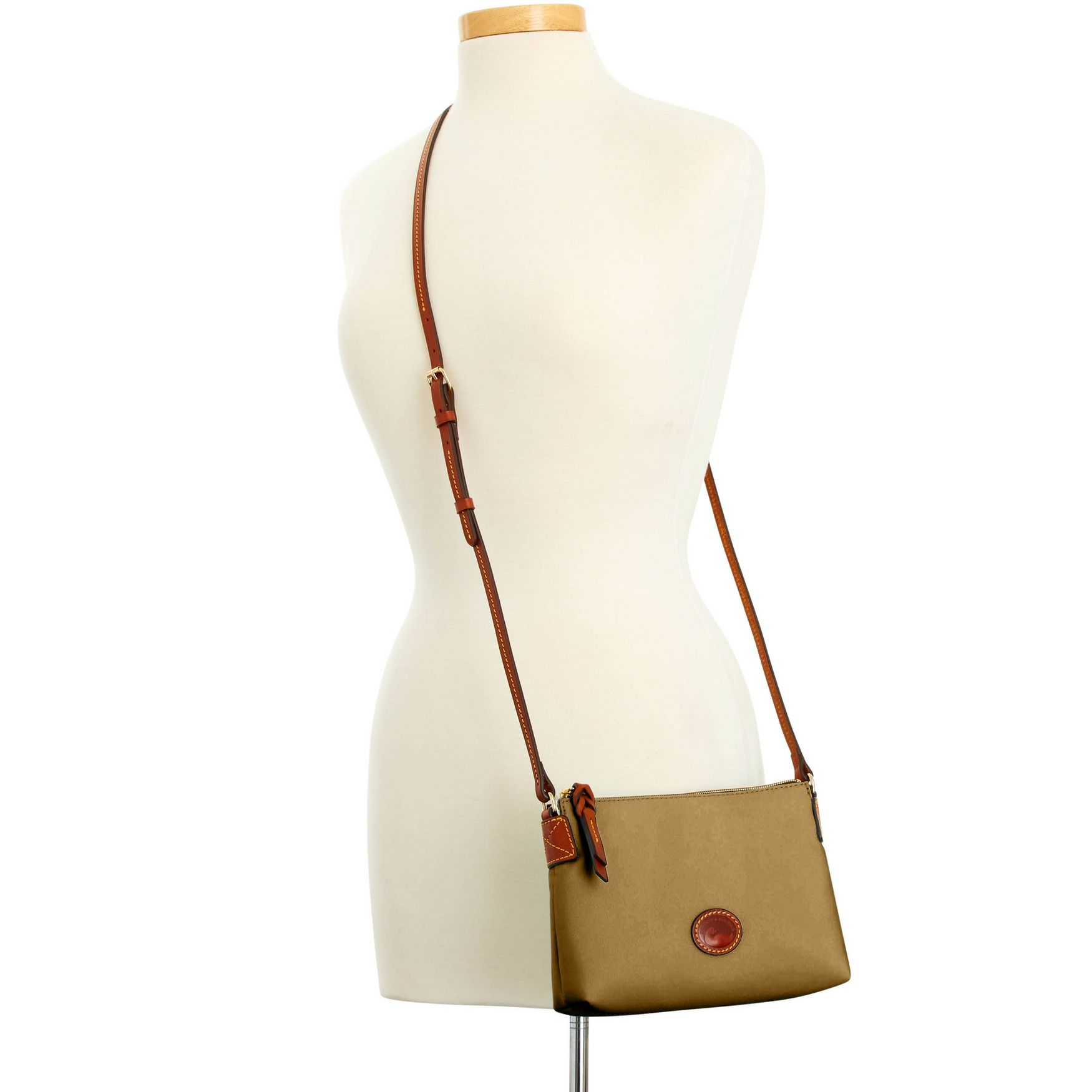 Dooney-amp-Bourke-Nylon-Crossbody-Pouchette-Shoulder-Bag thumbnail 36