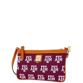 Texas A&M Large Slim Wristlet