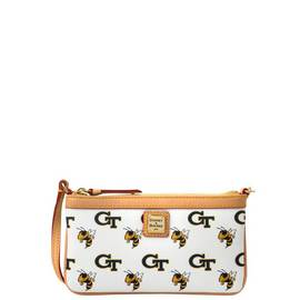 Georgia Tech Large Slim Wristlet