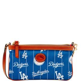 Dodgers Large Slim Wristlet
