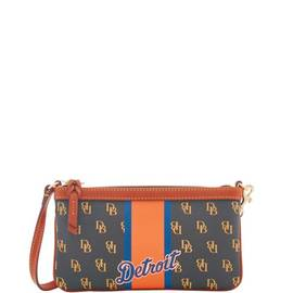 Tigers Large Slim Wristlet