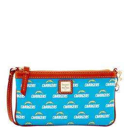 Chargers Large Slim Wristlet